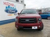 2013 Ruby Red Metallic Ford F150 FX4 SuperCrew 4x4 #81403353