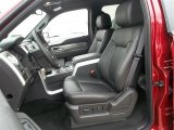 2013 Ford F150 FX4 SuperCrew 4x4 Front Seat