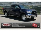 Nautical Blue Metallic Toyota Tundra in 2013
