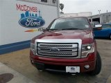 2013 Ruby Red Metallic Ford F150 Platinum SuperCrew 4x4 #81403347