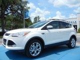 2013 White Platinum Metallic Tri-Coat Ford Escape SEL 2.0L EcoBoost #81403421