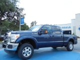 2013 Blue Jeans Metallic Ford F250 Super Duty XLT Crew Cab 4x4 #81403419