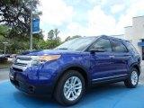 2013 Deep Impact Blue Metallic Ford Explorer XLT EcoBoost #81403418