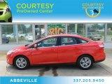 2012 Race Red Ford Focus SEL Sedan #81403892