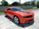 2010 Inferno Orange Metallic Chevrolet Camaro LT/RS Coupe #81403635
