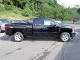 2013 Black Chevrolet Silverado 1500 LT Extended Cab 4x4 #81403513