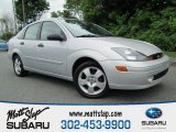 2003 CD Silver Metallic Ford Focus ZTS Sedan #81403629