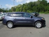 2013 Atlantis Blue Metallic Chevrolet Traverse LS #81403509