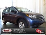 2013 Twilight Blue Metallic Honda CR-V LX #81403319