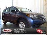 2013 Twilight Blue Metallic Honda CR-V LX #81403319