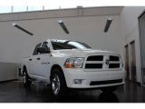 2012 Bright White Dodge Ram 1500 Express Crew Cab #81403622