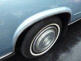 Cadillac Eldorado 1985 Wheels and Tires