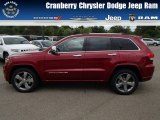 2014 Deep Cherry Red Crystal Pearl Jeep Grand Cherokee Overland 4x4 #81455181