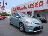 2012 Sea Glass Pearl Toyota Prius 3rd Gen Three Hybrid #81455105
