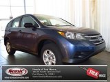 2013 Twilight Blue Metallic Honda CR-V LX #81455001