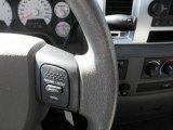 2008 Dodge Ram 1500 Big Horn Edition Quad Cab 4x4 Controls