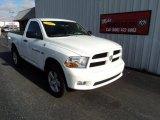 2011 Bright White Dodge Ram 1500 Express Regular Cab 4x4 #81455686