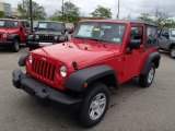 2013 Jeep Wrangler Flame Red