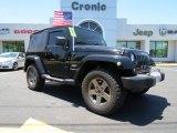 2011 Black Jeep Wrangler Sahara 4x4 #81455293