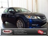 2013 Obsidian Blue Pearl Honda Accord Sport Sedan #81454982