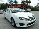 2011 White Platinum Tri-Coat Ford Fusion Sport #81455161