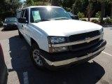 2005 Summit White Chevrolet Silverado 1500 LS Extended Cab 4x4 #81455376