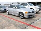 2001 Titanium Silver Metallic BMW 3 Series 325i Coupe #81455646