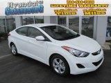 2013 Shimmering White Hyundai Elantra GLS #81454954