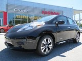 2013 Super Black Nissan LEAF SL #81455367