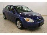 2007 Laser Blue Metallic Chevrolet Cobalt LT Sedan #81455465