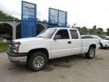 2005 Summit White Chevrolet Silverado 1500 LS Extended Cab 4x4 #81455138