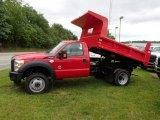 2013 Ford F350 Super Duty XL Regular Cab 4x4 Dump Truck Exterior