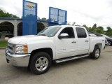 2013 Summit White Chevrolet Silverado 1500 LT Crew Cab 4x4 #81455134
