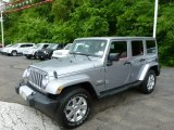 2013 Billet Silver Metallic Jeep Wrangler Unlimited Sahara 4x4 #81502489