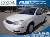 2005 Cloud 9 White Ford Focus ZX3 S Coupe #81502521