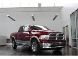 2011 Deep Cherry Red Crystal Pearl Dodge Ram 1500 Laramie Crew Cab 4x4 #81502439