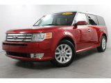 2010 Red Candy Metallic Ford Flex SEL #81502274