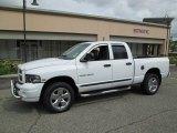 2005 Bright White Dodge Ram 1500 Laramie Quad Cab 4x4 #81502540