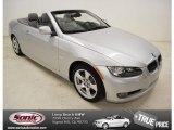 2010 Titanium Silver Metallic BMW 3 Series 328i Convertible #81502426