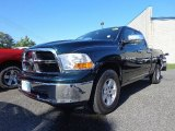 2011 Hunter Green Pearl Dodge Ram 1500 SLT Quad Cab #81520019