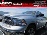 2011 Bright Silver Metallic Dodge Ram 1500 Big Horn Crew Cab #81524708
