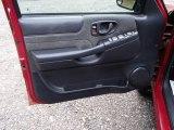 2002 Chevrolet S10 LS Crew Cab 4x4 Door Panel