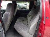 2002 Chevrolet S10 LS Crew Cab 4x4 Rear Seat