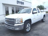 2013 Summit White Chevrolet Silverado 1500 LT Extended Cab #81540656