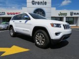 2014 Bright White Jeep Grand Cherokee Limited #81540257