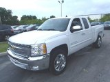 2013 Summit White Chevrolet Silverado 1500 LT Extended Cab #81540653