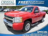 2010 Victory Red Chevrolet Silverado 1500 LS Regular Cab #81540487