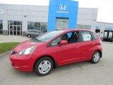 2013 Milano Red Honda Fit  #81540480