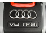 Audi S8 2013 Badges and Logos