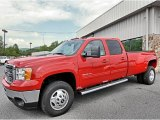 2013 Fire Red GMC Sierra 3500HD SLT Crew Cab 4x4 Dually #81540474